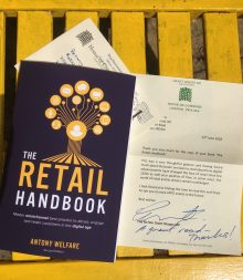 The Retail Handbook appreciation letter from Rt Hon MP Grant Shapps @ UK Government